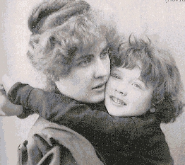 Constance Wilde and her son Cyril Wilde